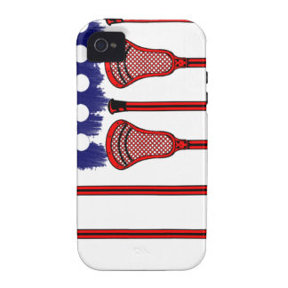 Lacrosse Americas Game iPhone 4/4S Covers