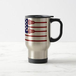 Lacrosse Americas Game Travel Mug