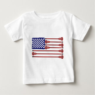 Lacrosse AmericasGame Baby T-Shirt