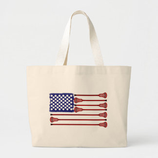 Lacrosse AmericasGame Tote Bags