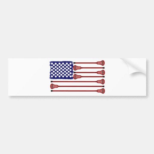 Lacrosse AmericasGame Bumper Sticker