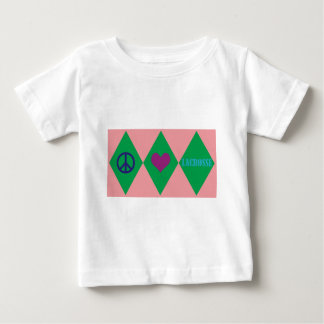 Lacrosse Argyle Baby T-Shirt
