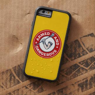 LaCrosse armó y caso peligroso del iPhone 6 Funda De iPhone 6 Tough Xtreme