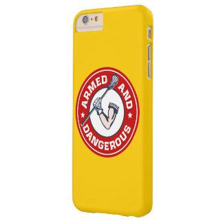 LaCrosse armó y caso peligroso del iPhone 6 Funda Para iPhone 6 Plus Barely There