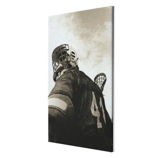 Lacrosse Athlete Canvas Print
