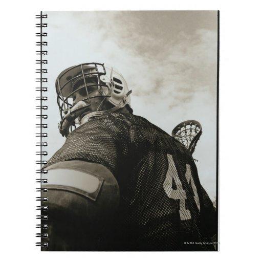 Lacrosse Athlete Notebooks