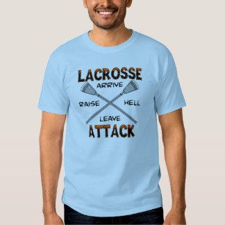 Lacrosse Attack ArriveRaiseHellLeave T-Shirt