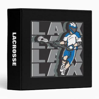 Lacrosse Attack Vinyl Binders