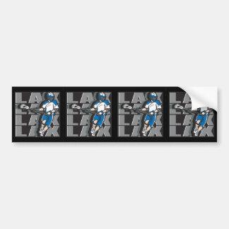 Lacrosse Attack Bumper Sticker