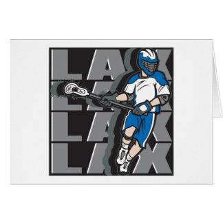 Lacrosse Attack Card