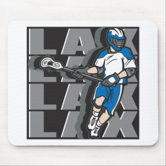 Lacrosse Attack Mouse Pad