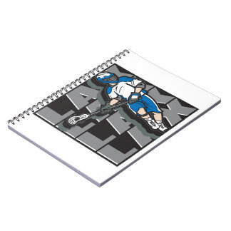 Lacrosse Attack Notebook