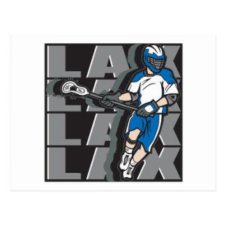 Lacrosse Attack Postcard