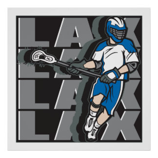 Lacrosse Attack Poster