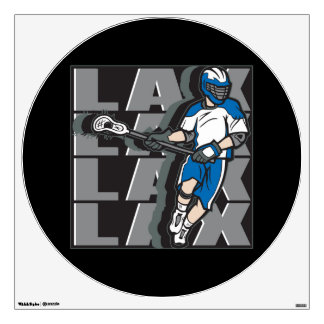Lacrosse Attack Wall Decal