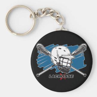 Lacrosse Attitude Keychains