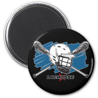 Lacrosse Attitude Refrigerator Magnet