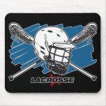 Lacrosse Attitude Mouse Pads