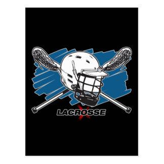 Lacrosse Attitude Postcard