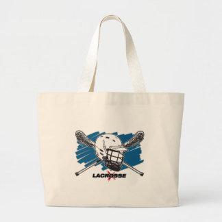 Lacrosse Attitude Tote Bags