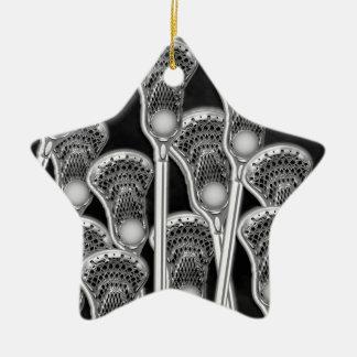 lacrosse award ceramic ornament