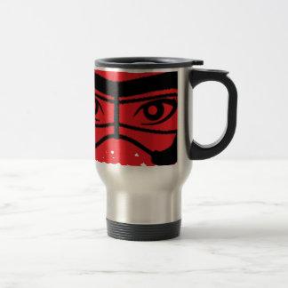 Lacrosse BeautyRedfined Red Travel Mug