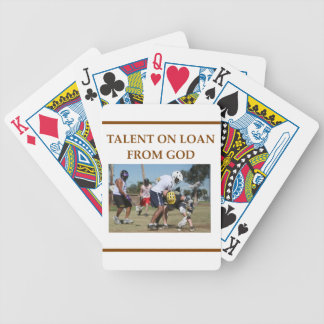 lacrosse bicycle playing cards