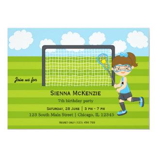 Lacrosse Birthday girl Card
