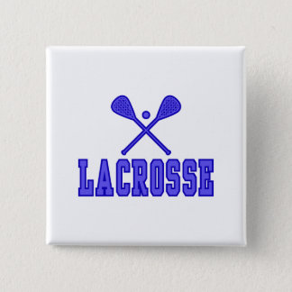 Lacrosse blue button