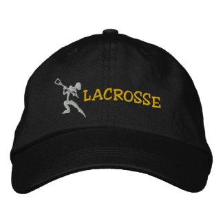 LaCrosse bordó el casquillo Gorras De Beisbol Bordadas