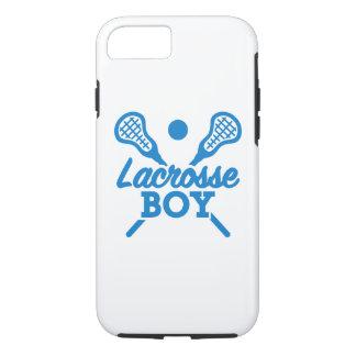 Lacrosse boy iPhone 7 case