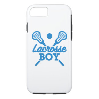 Lacrosse boy iPhone 8/7 case