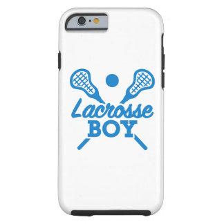 Lacrosse boy tough iPhone 6 case