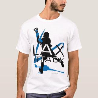 Lacrosse Boys LAX Attack 3 Blue T-Shirt