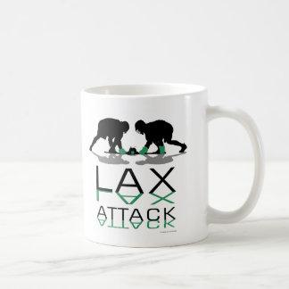 Lacrosse Boys LAX Attack Blue Coffee Mugs