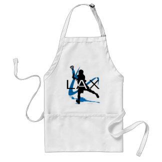 Lacrosse Boys LAX Blue Aprons
