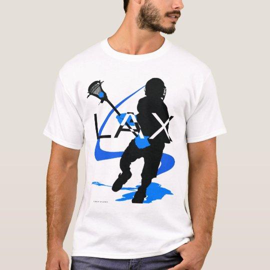 Lacrosse Boys LAX Blue T-Shirt