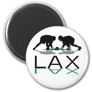 Lacrosse Boys LAX Green Magnet