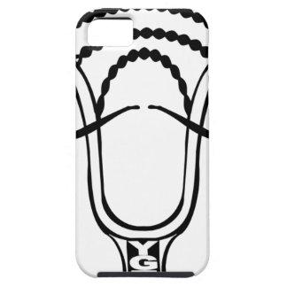 Lacrosse BroStache iPhone 5/5S Cover