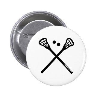 Lacrosse Pinback Buttons