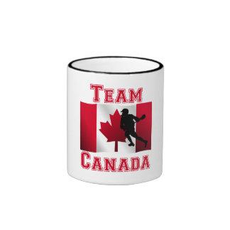 Lacrosse Canadian Flag Team Canada Mugs