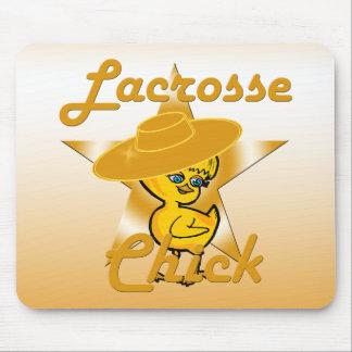 Lacrosse Chick #10 Mouse Pad