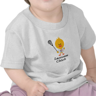 Lacrosse Chick Baby T-shirt
