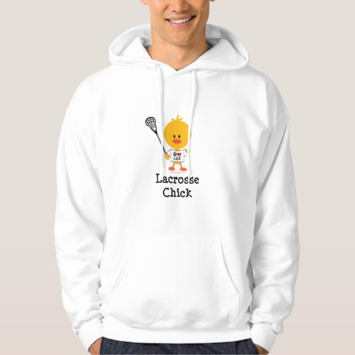 Lacrosse Chick Hooded Sweatshirt