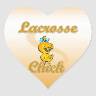 Lacrosse Chick Stickers