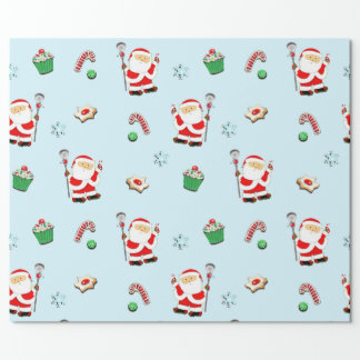 lacrosse Christmas gifts Wrapping Paper