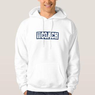 Lacrosse Coach - blue Hoodie