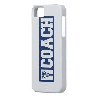 Lacrosse Coach - blue iPhone SE/5/5s Case