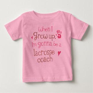 Lacrosse Coach (Future) Infant Baby T-Shirt