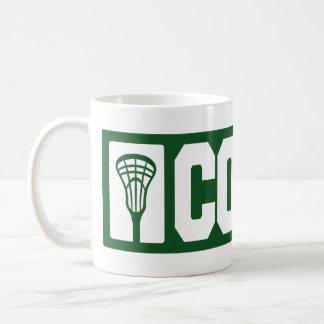 Lacrosse Coach - green Coffee Mug